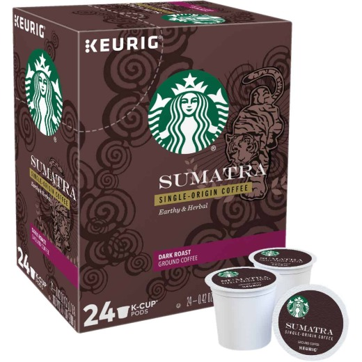 Keurig Starbucks Sumatra Coffee K-Cup (22-Pack)
