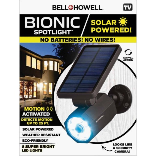 Bell+Howell Solar Powered Bionic Spotlight