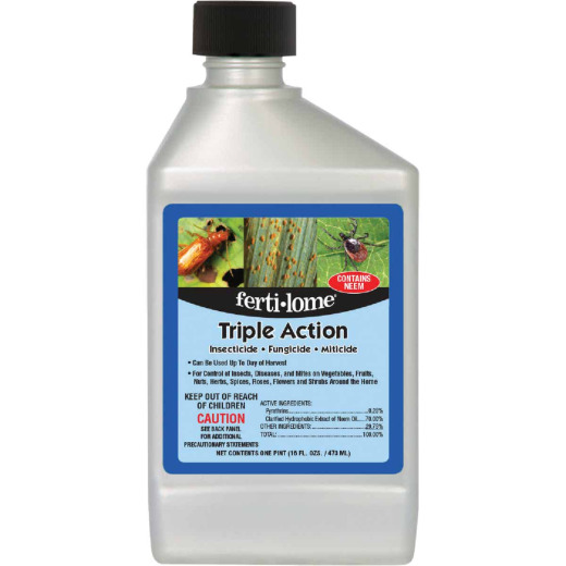 Fertilome Triple Action Plus 16 Oz. Concentrate Disease Control