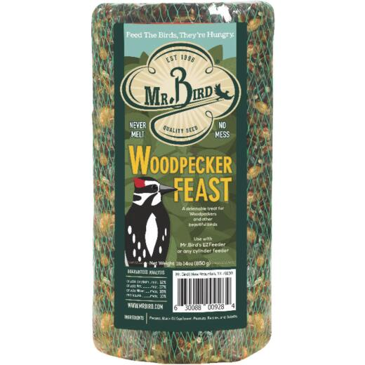 Mr. Bird 28 Oz. Woodpecker Feast Wild Bird Seed Log