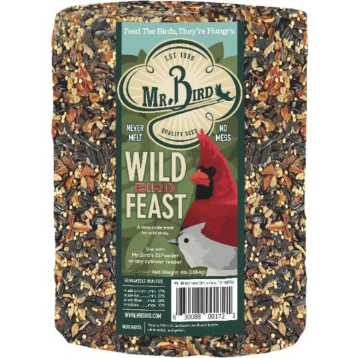 Mr. Bird 72 Oz. Wild Bird Feast Seed Log