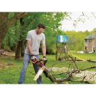 Black & Decker 10 In. 20V MAX Lithium Ion Cordless Chainsaw Image 3