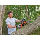 Black & Decker 10 In. 20V MAX Lithium Ion Cordless Chainsaw Image 4