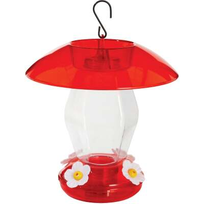 More Birds 20 Oz. Plastic Jubilee Hummingbird Feeder