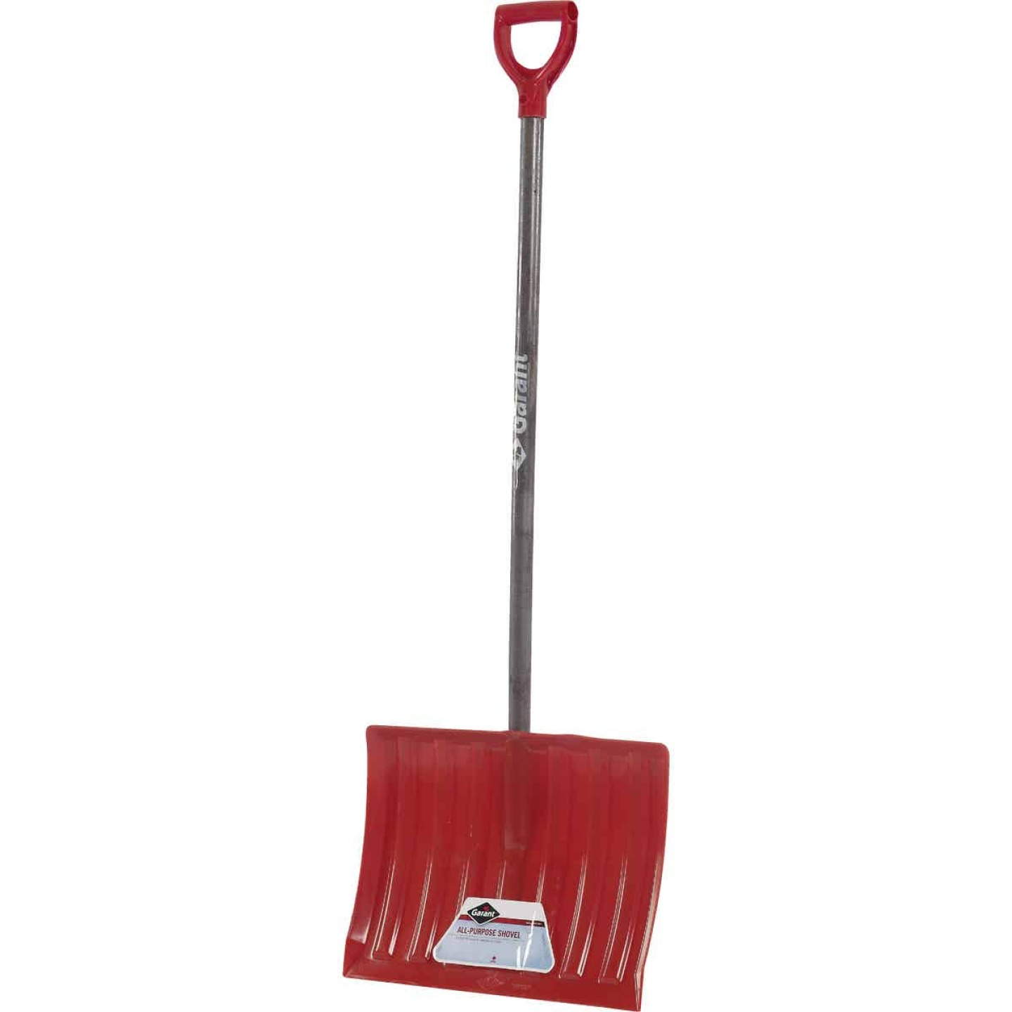 Garant Nordic 18 In. Poly Snow Shovel with 42.25 In. Wood Handle Image 1