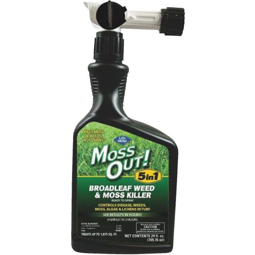 Lilly Miller MOSS OUT! 24 Oz. Ready To Spray Moss & Algae Killer
