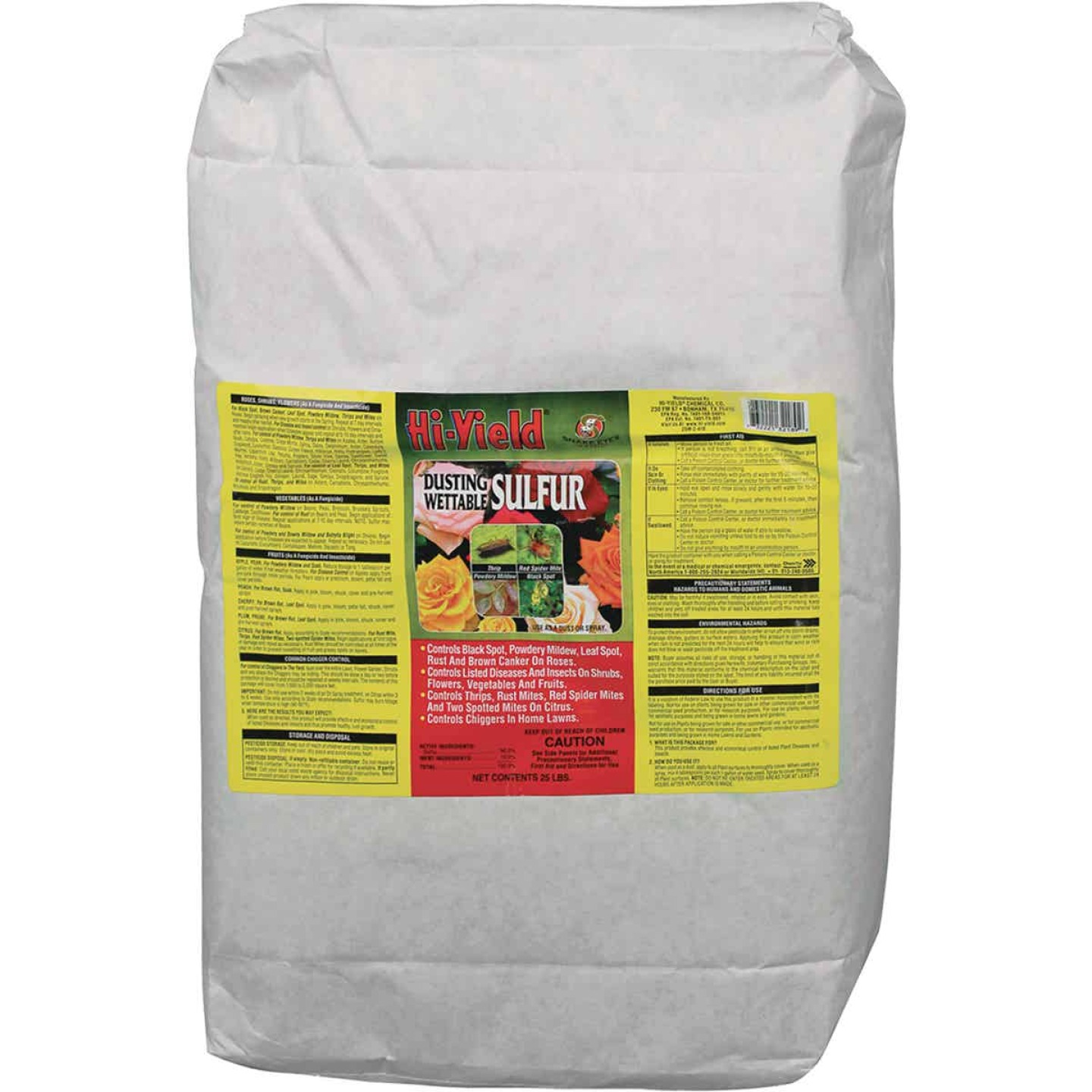 Hi-Yield 25 Lb. Powder Concentrate Wettable Sulphur Fungicide Image 1