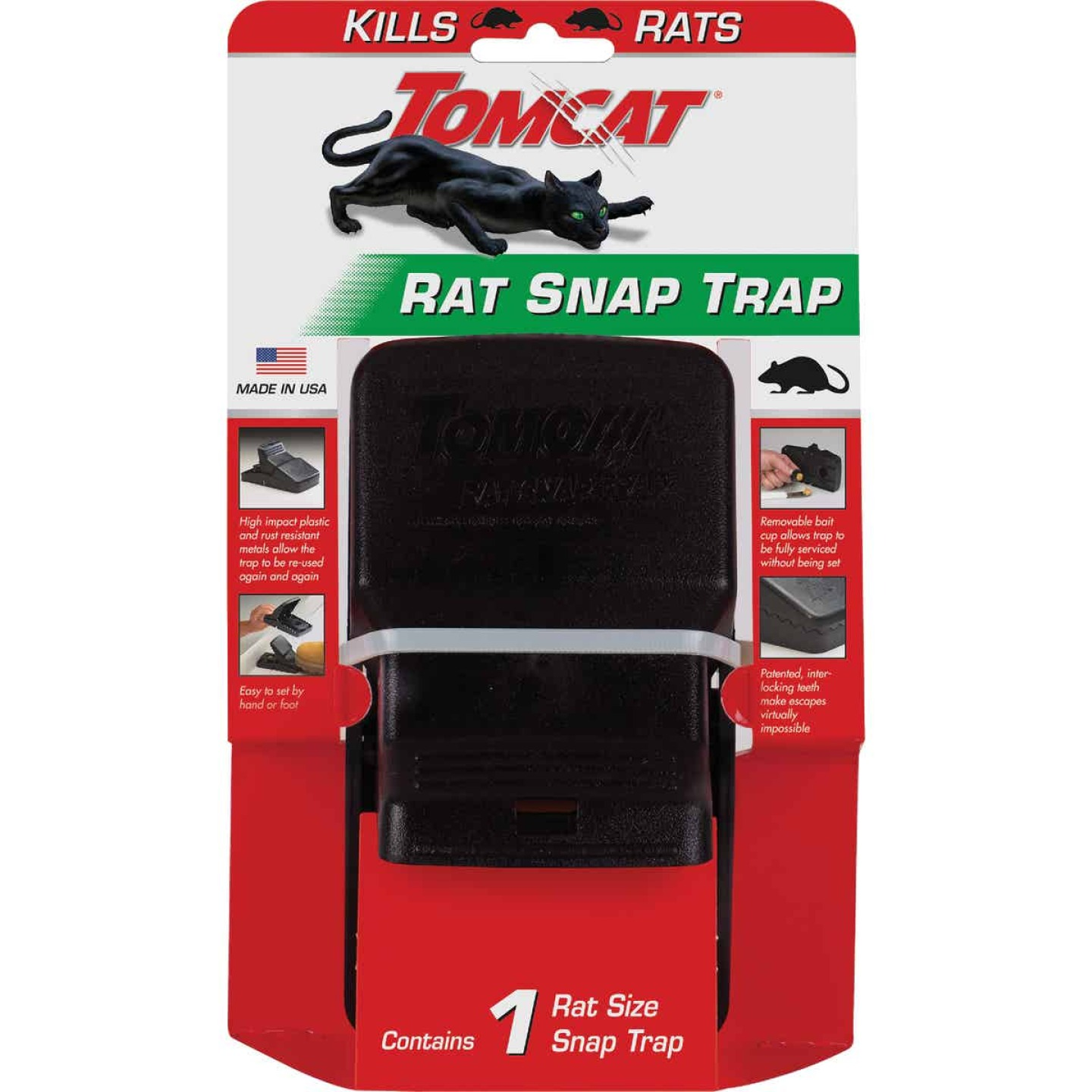Tomcat Rat Snap Mechanical Rat Trap (1-Pack) Image 2