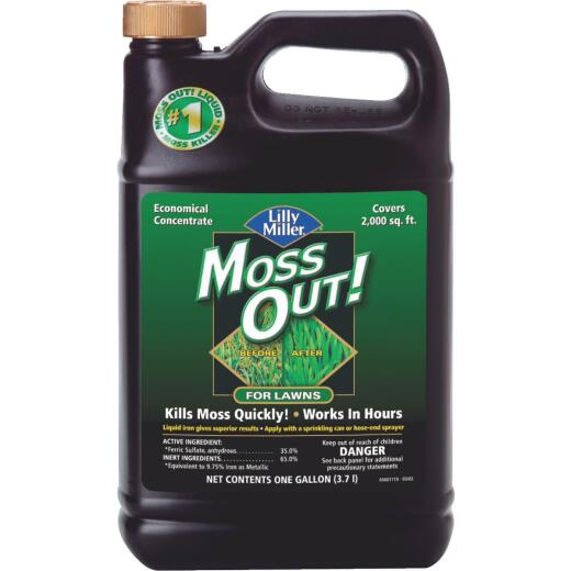 Lilly Miller MOSS OUT! 1 Gal. Concentrate Moss & Algae Killer