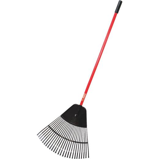 Bully Tools 24 In. Poly Leaf Rake (26-Tine)