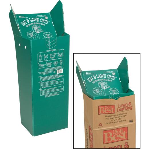Luster Leaf 30 Gal. Corrugated Plastic Lawn & Yard Bag Holder