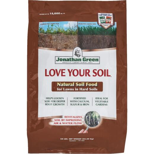 Jonathan Green Love Your Soil 54 Lb. 15,000 Sq. Ft. Organic Lawn & Soil Food