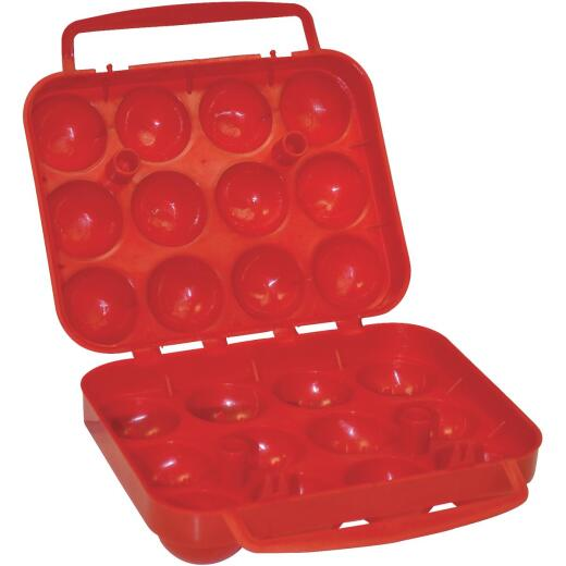 Coleman 12-Count Red Egg Container