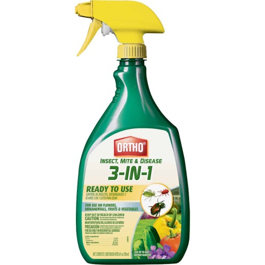 Ortho 24 Oz. Ready To Use Trigger Spray 3-In-1 Disease Control