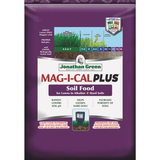 Jonathan Green MAG-I-CAL Plus 54 Lb. 15,000 Sq. Ft. 18% Calcium Lawn Fertilizer For Alkaline Soil