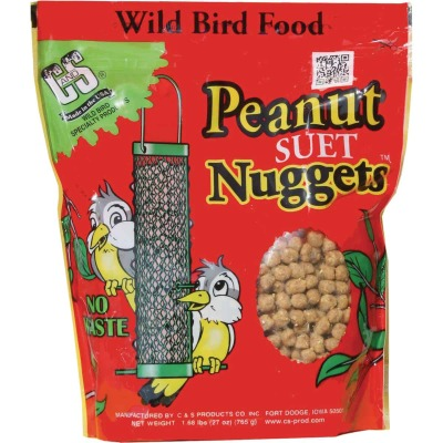 C&S Nuggets 27 Oz. Peanut Suet