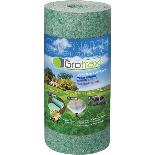 GroTrax Quick-Fix 50 Sq. Ft. Coverage Year Round Green Mixture Grass Seed Roll