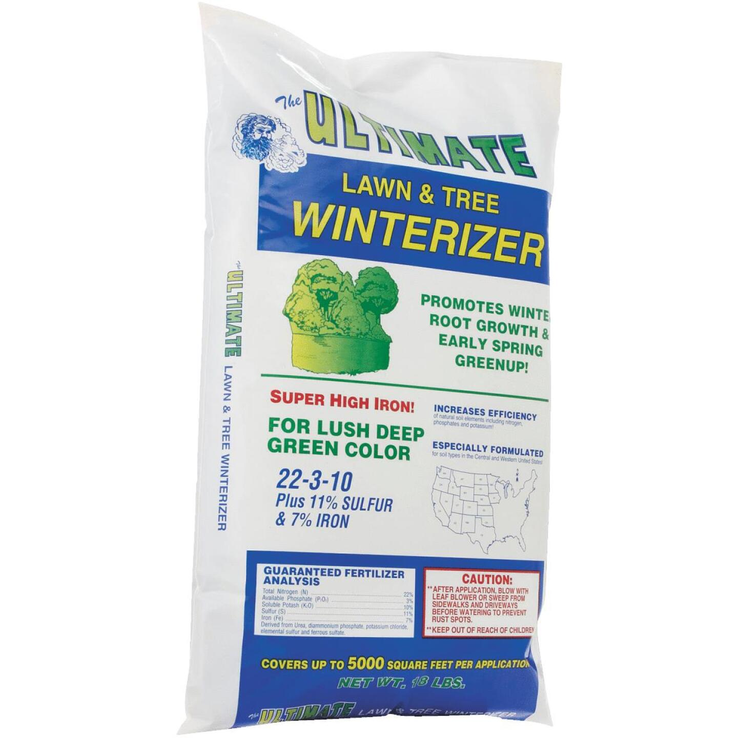 Ultimate 18 Lb. 5000 Sq. Ft. 22-3-10 Lawn And Tree Winterizer Fall Fertilizer Image 3