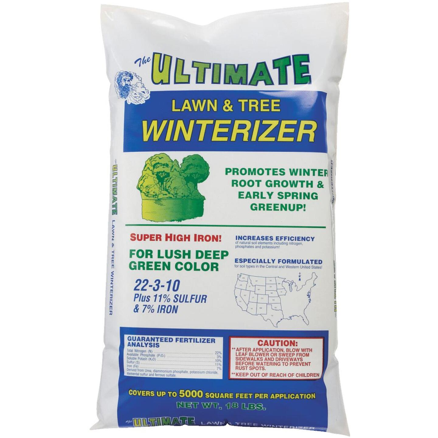 Ultimate 18 Lb. 5000 Sq. Ft. 22-3-10 Lawn And Tree Winterizer Fall Fertilizer Image 5