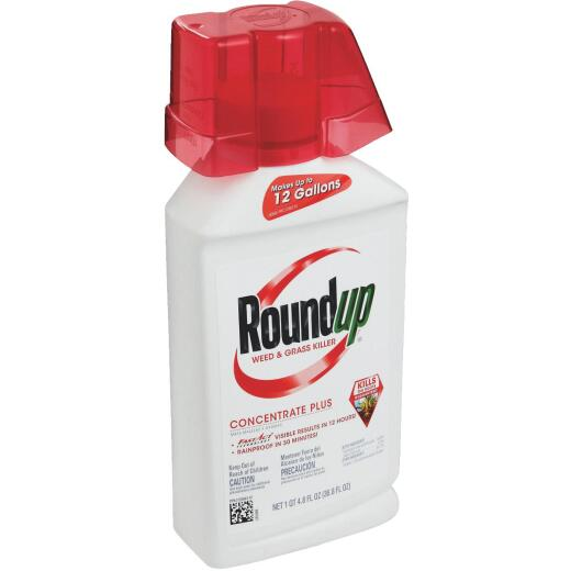 Roundup 36.8 Oz. Concentrate Plus Weed & Grass Killer
