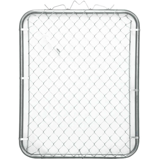Midwest Air Tech Single Walk 43 In. W. x 70 In. H. Chain Link Gate