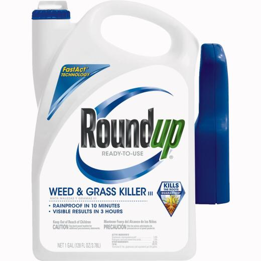 Roundup 1 Gal. Ready To Use Trigger Spray Weed & Grass Killer III