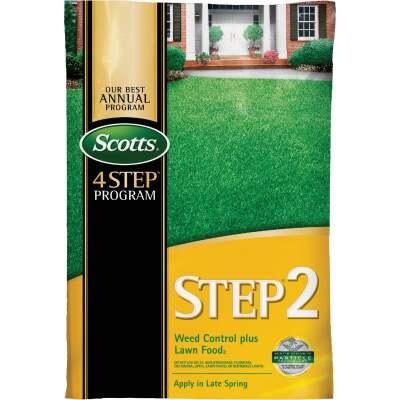 Scotts 4-Step Program Step 2 14.29 Lb. 5000 Sq. Ft. 28-0-3 Lawn Fertilizer with Weed Killer