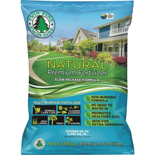 Twin Pine 32 Lb. 2500 Sq. Ft. 4-3-0 Natural Premium Fertilizer