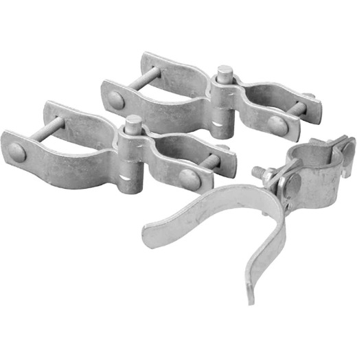 Midwest Air Tech Chain Link Fence Single Gate 2-3/8 In. x 1-3/8 In. Gate Hardware Kit