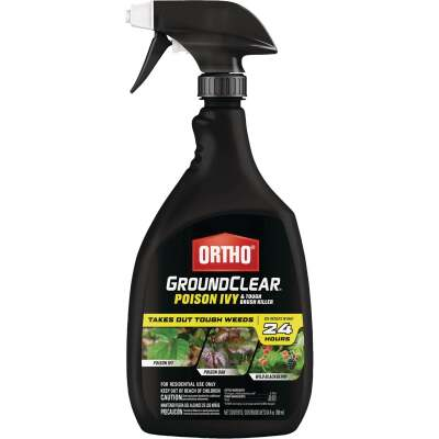 Ortho GroundClear 24 Oz. Ready To Use Trigger Spray Poison Ivy & Tough Brush Killer