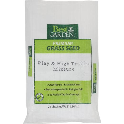 Best Garden 25 Lb. 7500 Sq. Ft. Coverage High Traffic Grass Seed