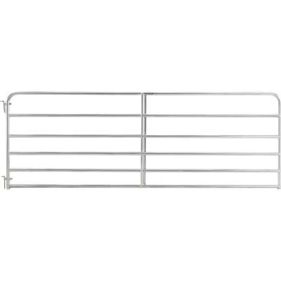 Tarter 50 In. H. x 8 Ft. L. x 1-3/4 In. Tube Diameter Galvanized Tube Gate