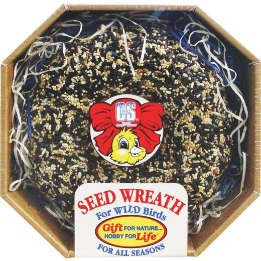 C&S 2.6 Lb. Wild Bird Seed Wreath