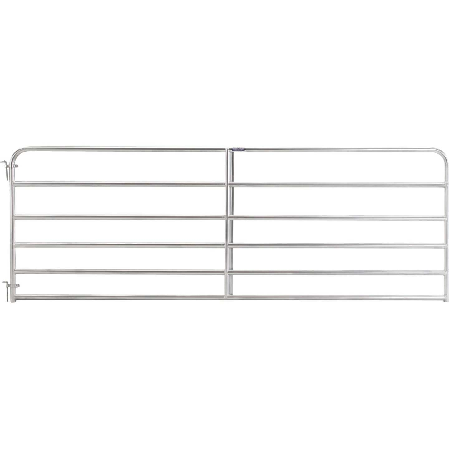 Tarter 50 In. H. x 12 Ft. L. x 1-3/4 In. Tube Diameter Galvanized Tube Gate Image 1