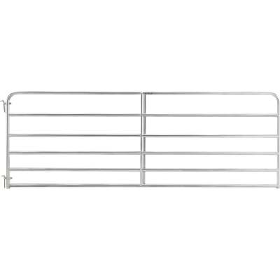 Tarter 50 In. H. x 12 Ft. L. x 1-3/4 In. Tube Diameter Galvanized Tube Gate