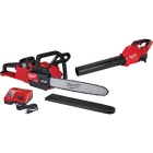 Milwaukee M18 Fuel 16 In. 18V Chainsaw & Blower Kit Image 1