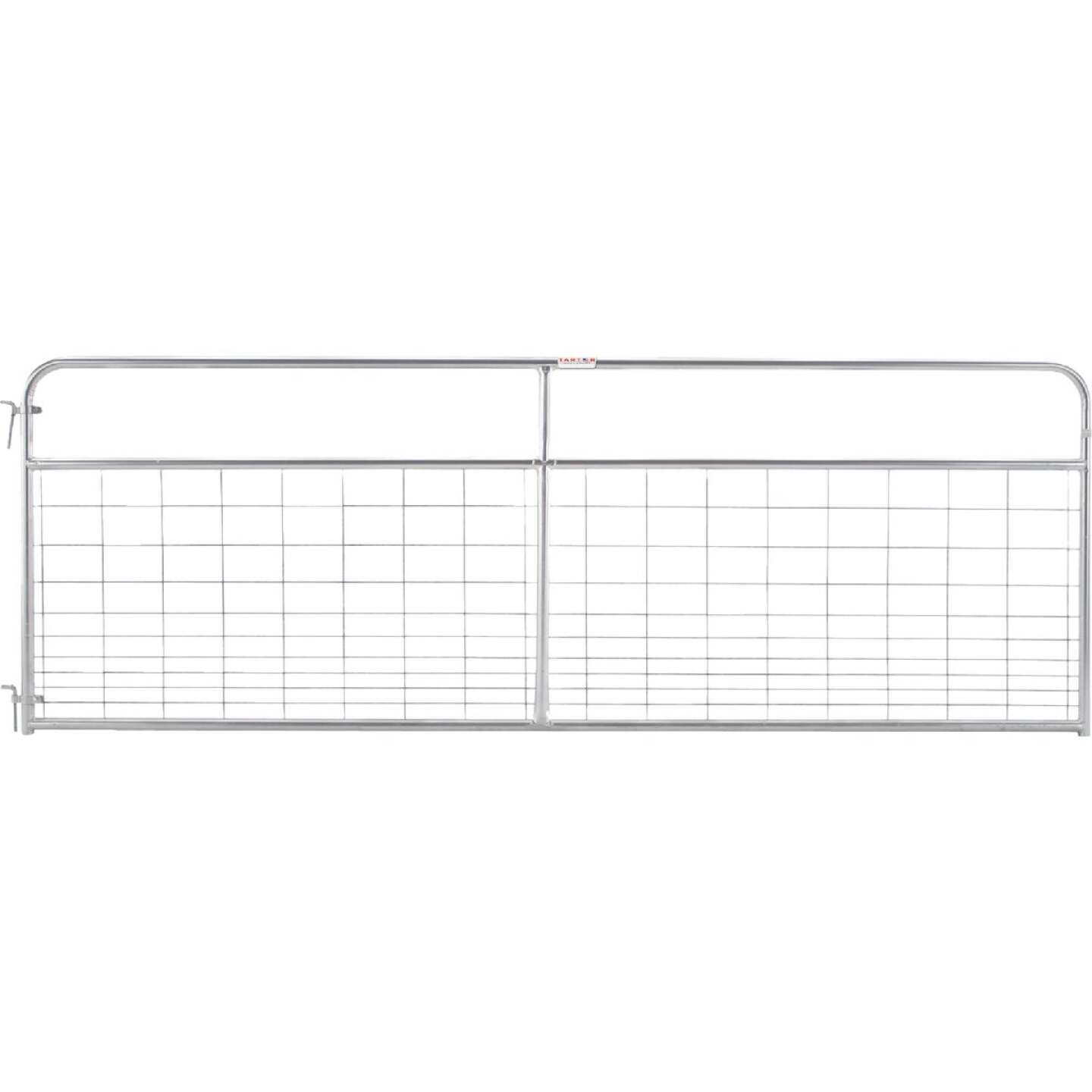 Tarter 50 In. H. x 12 Ft. L. x 1-3/4 In. Tube Diameter Galvanized Wire-Filled Tube Gate Image 1