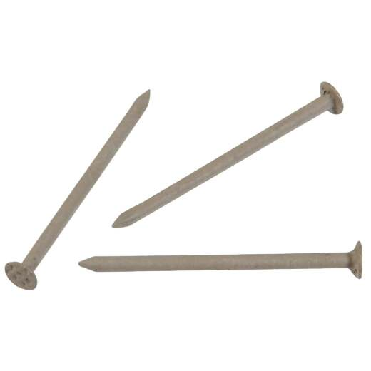 Hillman Anchor Wire 1-1/4 In. 15 ga Clay Stainless Steel Trim Nails (5 Ct., 6 Oz.)