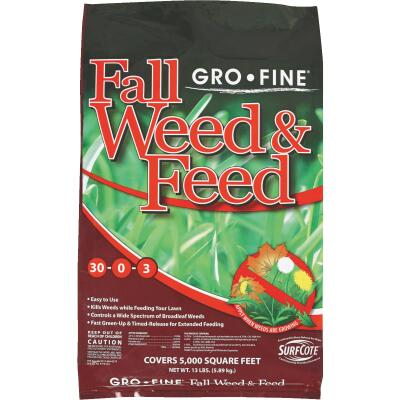 Gro-Fine 13 Lb. 5000 Sq. Ft. 28-0-6 Winterizer Fall Weed & Feed Fertilizer