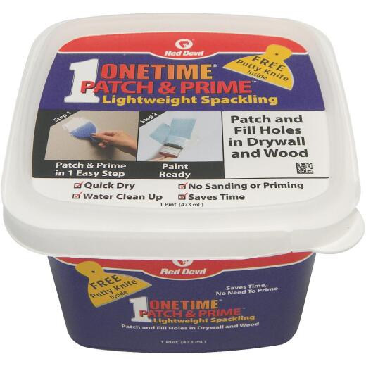 Red Devil Onetime 1 Pt. Lightweight Acrylic Patch & Prime Spackling