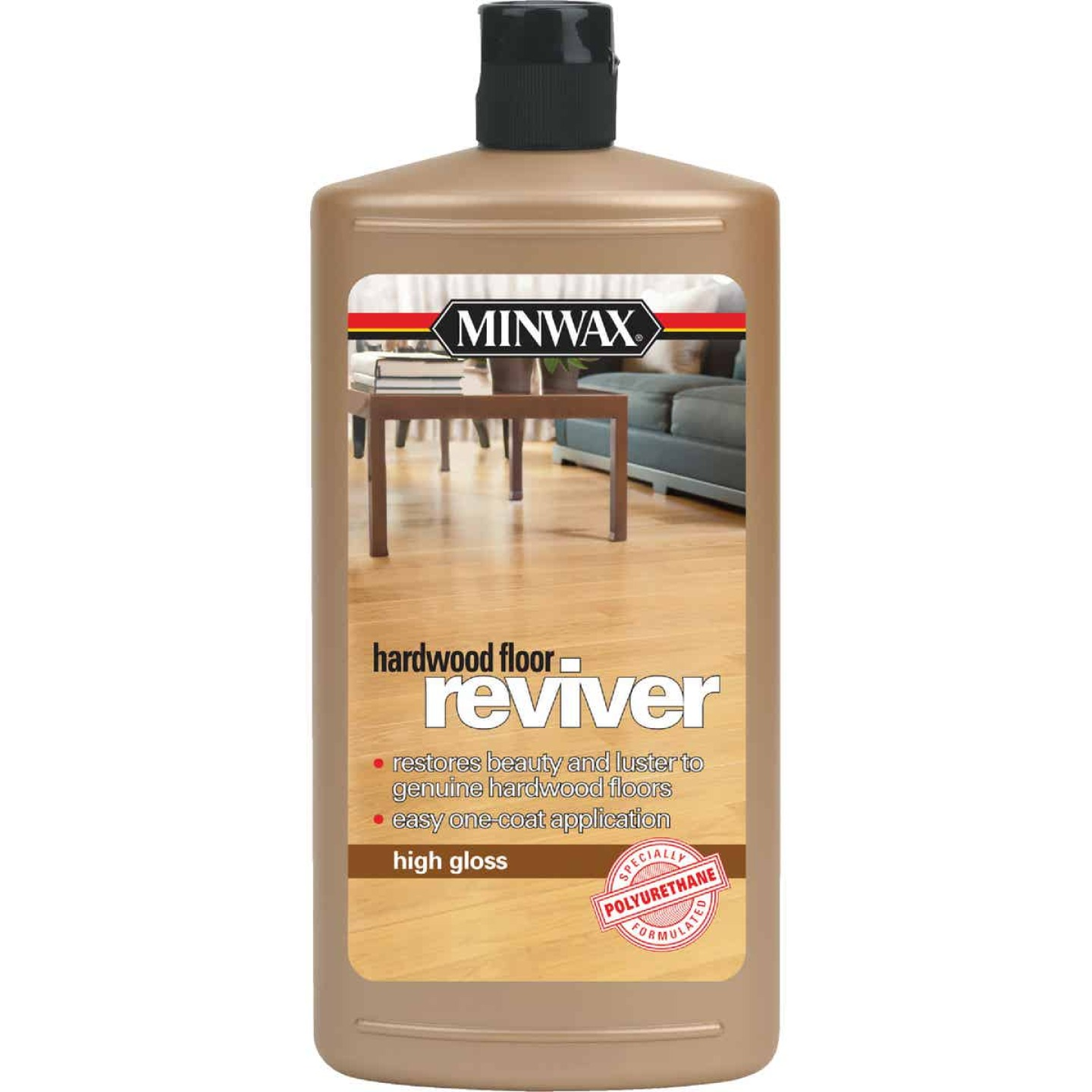 Minwax 32 Oz. High Gloss Hardwood Floor Reviver Image 1