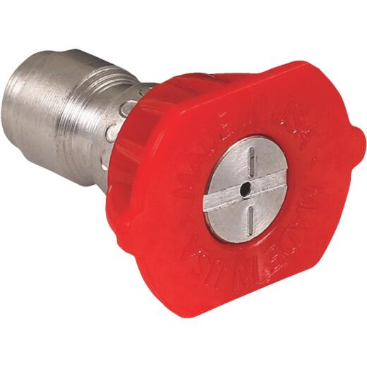 Mi-T-M 4.0mm 0 Degree Red Pressure Washer Spray Tip