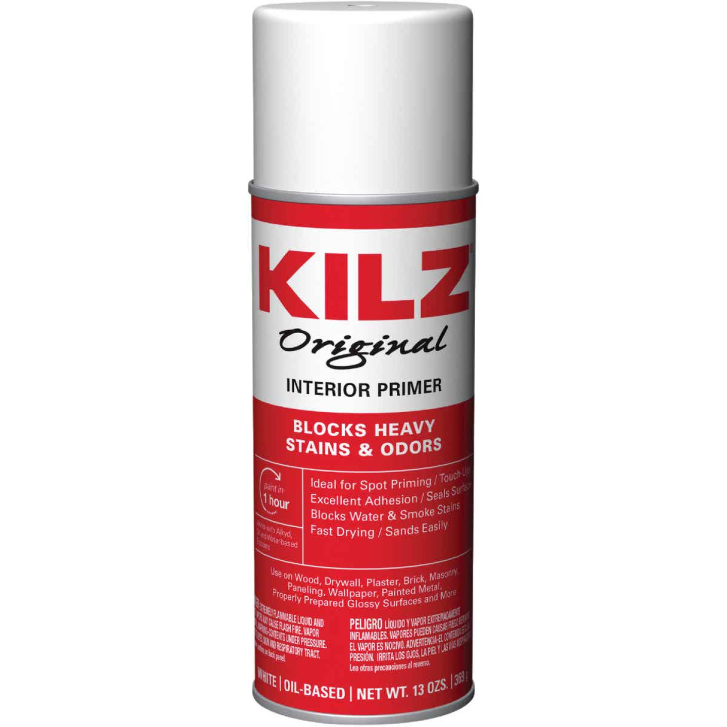 Kilz Original 13 Oz. Primer Sealer Stainblocker Spray, White Image 1