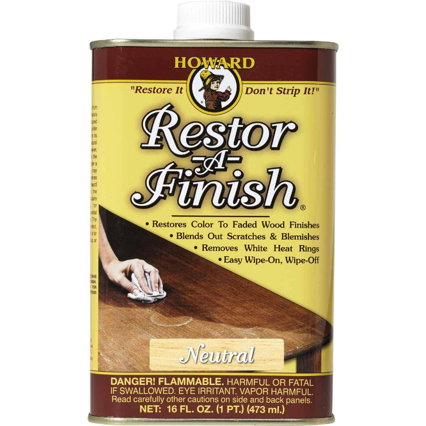 Howard Restor-A-Finish 16 Oz. Neutral Wood Finish Restorer Image 1