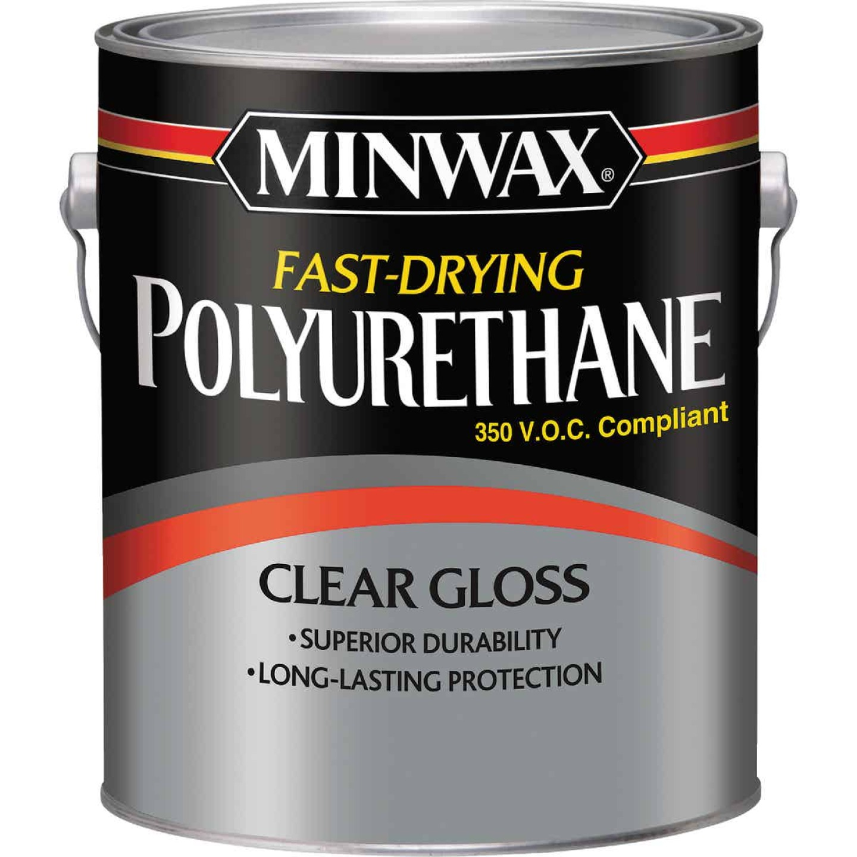 Minwax VOC Gloss Fast-Drying Interior Polyurethane, 1 Gal. Image 1