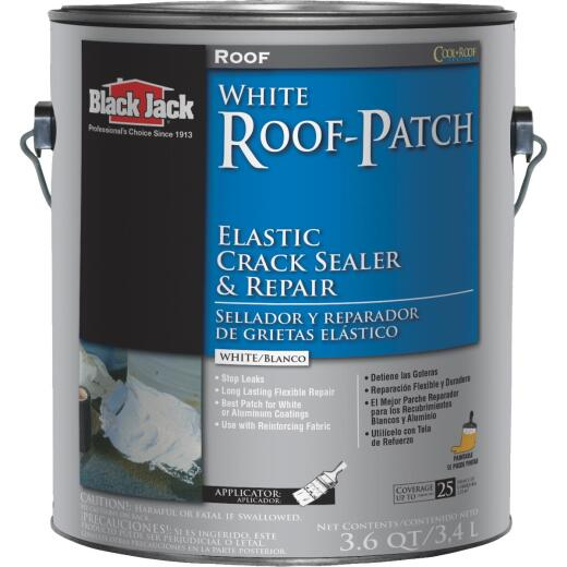 Black Jack Roof-Patch 1 Gal. Elastic Crack Sealer and Repair