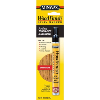 Minwax Wood Finish Golden Oak Stain Marker