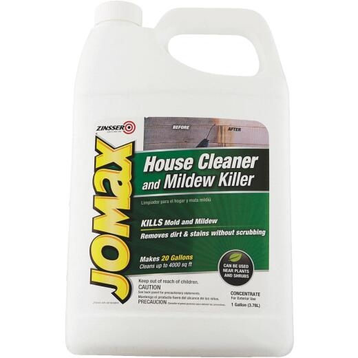 Zinsser Jomax House Cleaner and Mildew Killer, 1 Gal.