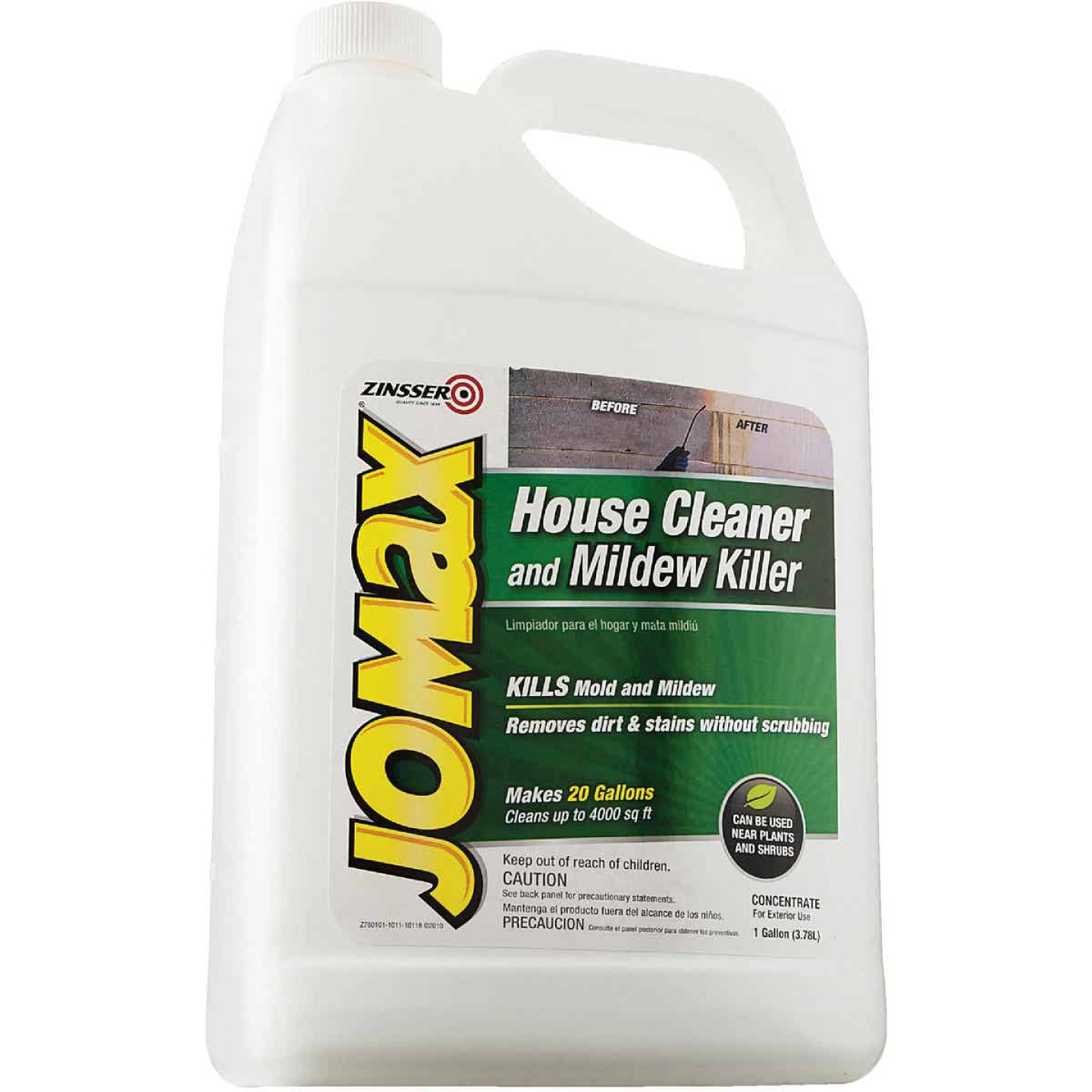 Zinsser Jomax House Cleaner and Mildew Killer, 1 Gal. Image 2