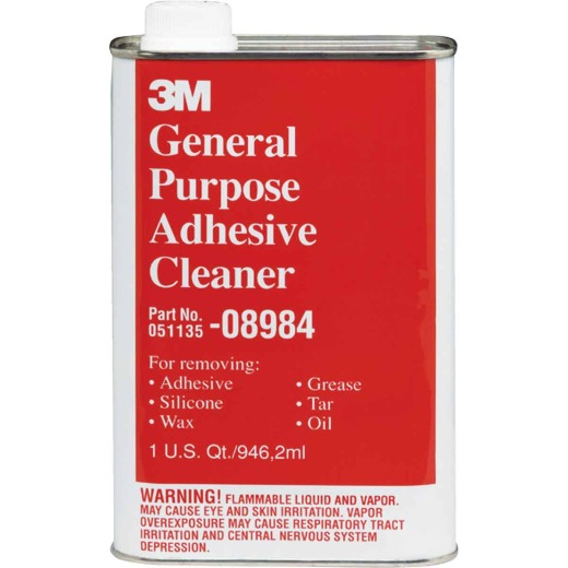 3M 1 Qt. Cleaner and Adhesive Remover